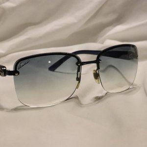 Authentic GUCCI Rimless Gradient Sunglasses